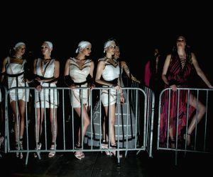 GREECE-ATHENS-FASHION AND MUSIC SHOW-MADWALK