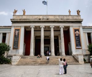 GREECE-ATHENS-NATIONAL ARCHAEOLOGICAL MUSEUM