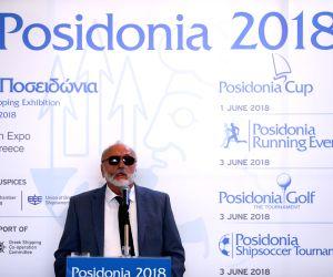 GREECE-ATHENS-POSIDONIA SHIPPING EXHIBITION-PRESS CONFERENCE