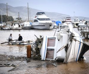 GREECE MANDRA FLOOD