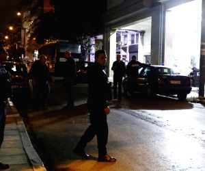 GREECE ATHENS SOCIALIST PARTY HEADQUARTERS ATTACK