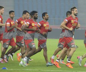 Atletico de Kolkata practice session