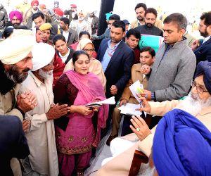 Punjab CM during Sangat Darshan