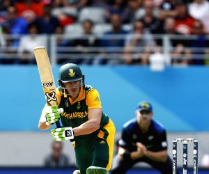Auckland (New Zealand): ICC World Cup - 2015 - First semi-final match - New Zealand Vs South Africa
