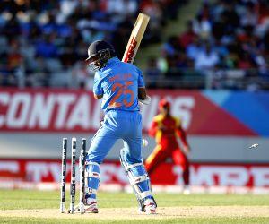 Auckland (New Zealand):   ICC World Cup 2015 - India vs Zimbabwe