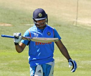 Auckland (New Zealand): ICC World Cup - 2015 - Practice Session (India)
