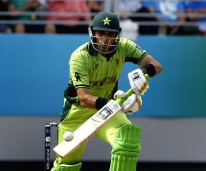 Auckland (New Zealand):  ICC World Cup 2015 - Pakistan vs South Africa