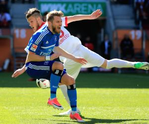 GERMANY AUGSBURG SOCCER BUNDESLIGA FC AUGSBURG VS HAMBURGER
