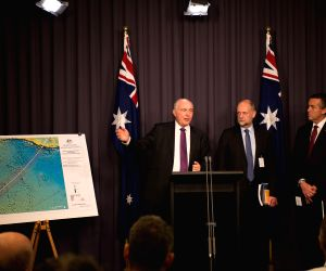 AUSTRALIA CANBERRA MH370 PRESS CONFERENCE