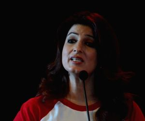 "Twinkle Khanna at ""Save the Children"" awareness programme"