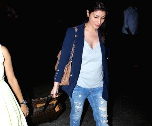 Twinkle Khanna spotted at Airport