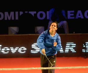 PBL - Saina Nehwal - practice session