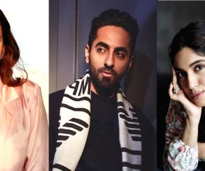 Free Photo: Ayushmann Khurrana, Bhumi Pednekar and Dia Mirza join #jaagore