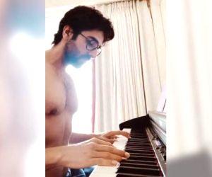 Ayushmann Khurrana plays 'Bella Ciao' of 'Money Heist' on piano