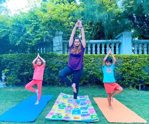 B-Town embraces asanas on International Yoga Day.