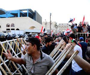 IRAQ BAGHDAD PROTEST