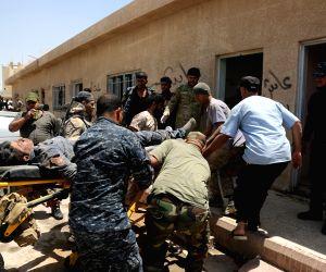 IRAQ FALLUJAH SECURITY FORCE BATTLE