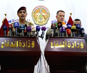 IRAQ-BAGHDAD-PRESS CONFERENCE