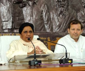 Mayawati's press conference