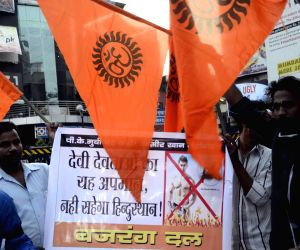 Bajrang Dal demonstration against 'PK'