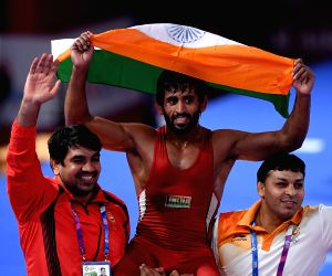 Wrestler Bajrang clinches Asiad gold medal