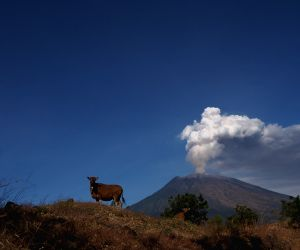 INDONESIA BALI MOUNT AGUNG ERUPTION
