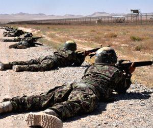 AFGHANISTAN BALKH MILITARY TRAINING