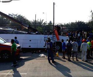 THAILAND-BANGKOK-TOUR BUS ACCIDENT