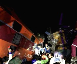 THAILAND AYUTTHAYA TRAIN CRASH
