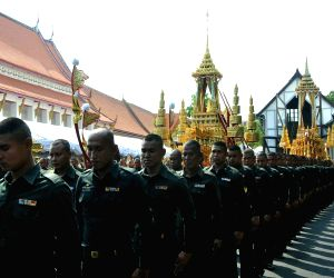THAILAND BANGKOK LATE KING SACRIFICE CEREMONY