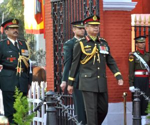 Bangladesh Army Chief at Indian Military Academy