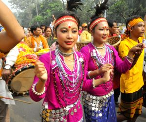 BANGLADESH DHAKA HARVEST FESTIVAL CELEBRATION