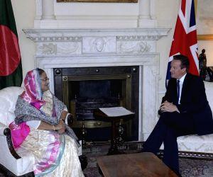 London (England): Sheikh Hasina meets David Cameron