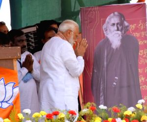 Tagore takes centre stage in Bengal poll campaigns