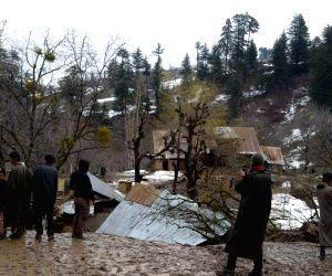 Landslide in Baramulla