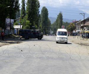 Curfew imposed in Kashmir valley