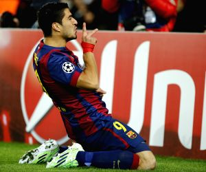 Barcelona (Spain): UEFA Champions League group F football match