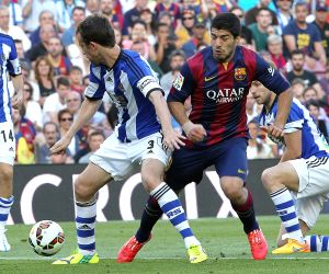 FC Barcelona V/S Real Sociedad - Spanish Primera Division league