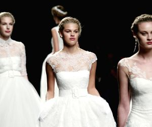 SPAIN-BARCELONA-BRIDAL FASHION WEEK