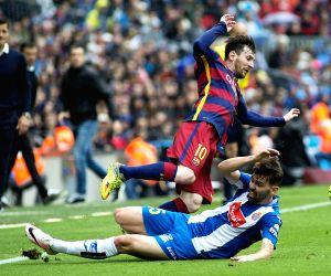 SPAIN BARCELONA FOOTBALL SPANISH LIGA