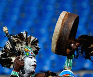 Semi-final match of Africa Cup of Nations between Cote d'Ivoire and DR Congo