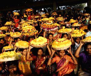 bathukamma-celebrations-underway-in-hyderabad-on