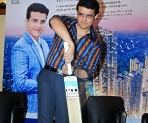 Sourav Ganguly at a promotional programme