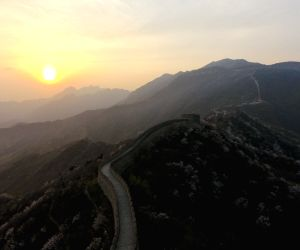 CHINA BEIJING GREAT WALL DRONE PICTURE