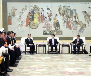 CHINA BEIJING MENG JIANZHU MEETING
