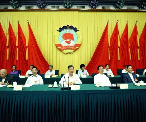 CHINA-BEIJING-CPPCC-STANDING COMMITTEE-SESSION