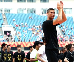 Ronaldo re-ignites football frenzy in China after World Cup