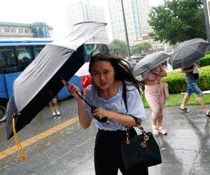 CHINA BEIJING HEAVY RAIN YELLOW ALERT