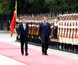 CHINA-BEIJING-LUXEMBOURG-LI KEQIANG-XAVIER BETTEL-TALKS