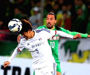 CHINA-BEIJING-AFC CHAMPIONS LEAGUE-GROUP G-BEIJING GUOAN VS SUWON SAMSUNG FC